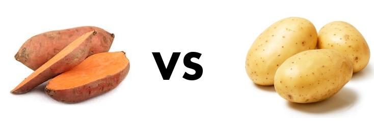 Ziemniaki vs Bataty