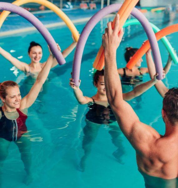 Aqua fitness – zajęcia w wodzie